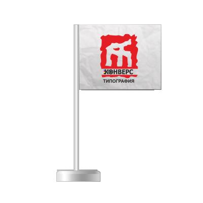 Бумажные флаги на палочке