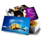 Рекламные визитные карточки